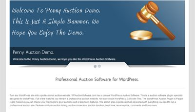 WordPress Auction Plugin 2.7