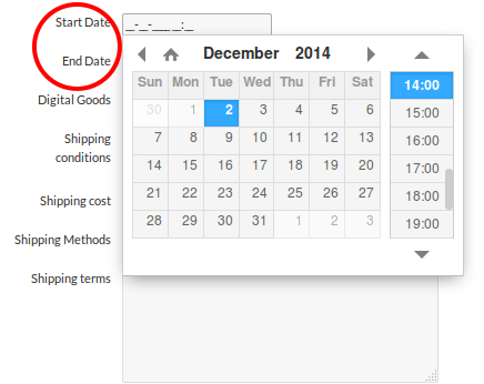 Adding a new scheduling feature in WPAuctionSoftware