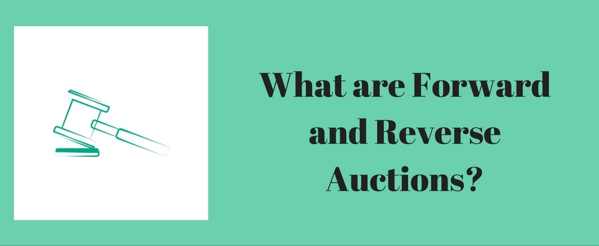 what-are-forward-and-reverse-auctions